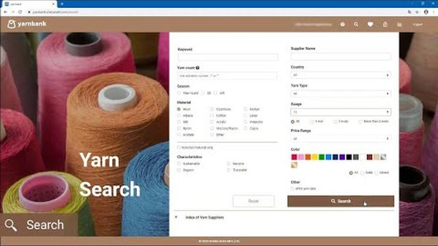 "Introducing ""yarnbank"": the world's first digital yarn sourcing website"