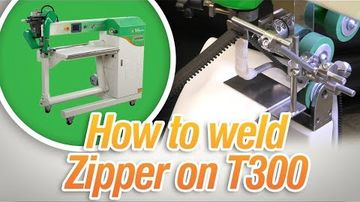 How to Weld a Zipper - T300 Extreme I Miller Weldmaster